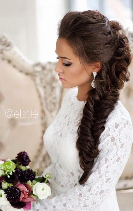 15 Most Trendy Wedding Hairstyles Inspiration for Bride