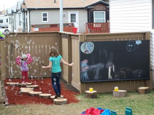 16 Fun Backyard DIY Projects to Surprise Your Kids
