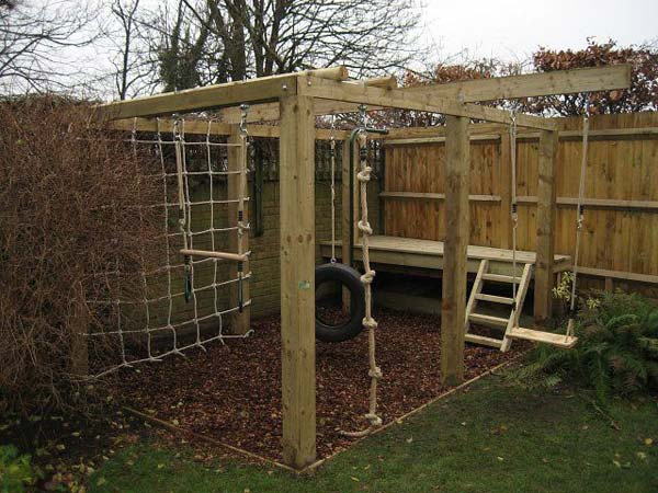 17 Fun Backyard DIY Projects to Surprise Your Kids