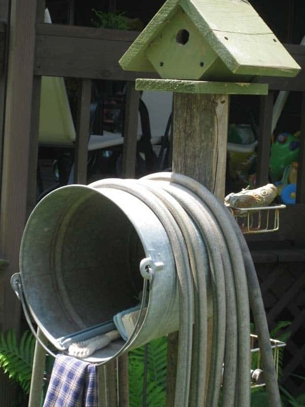 17 Genius Ways To Repurpose Galvanized Buckets and Tubs