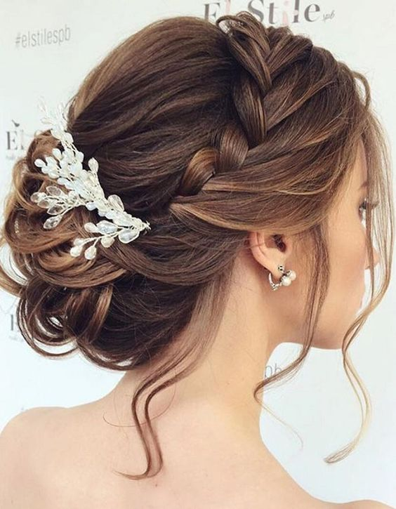 19 Most Trendy Wedding Hairstyles Inspiration for Bride