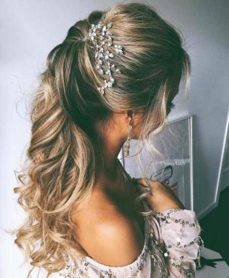 20 Most Trendy Wedding Hairstyles Inspiration for Bride