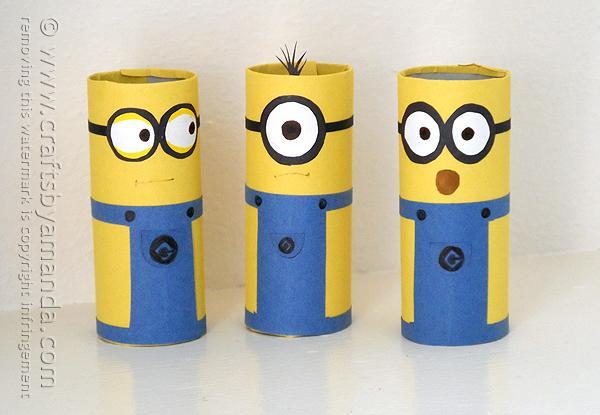 22 Cardboard-Tube-Minions