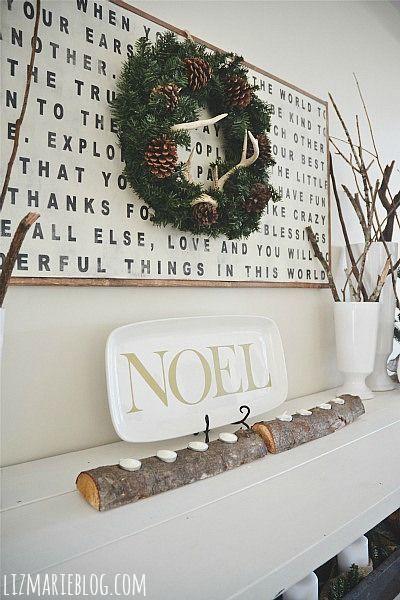 24 Creative DIY Christmas Wall Decor Ideas