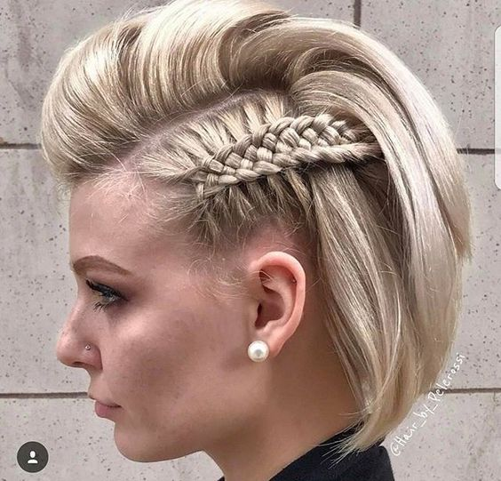 24 Easy and Trendy Short Hairstyles for Ladies