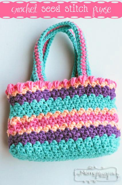24 Free Crochet Purse  and  Bag Patterns