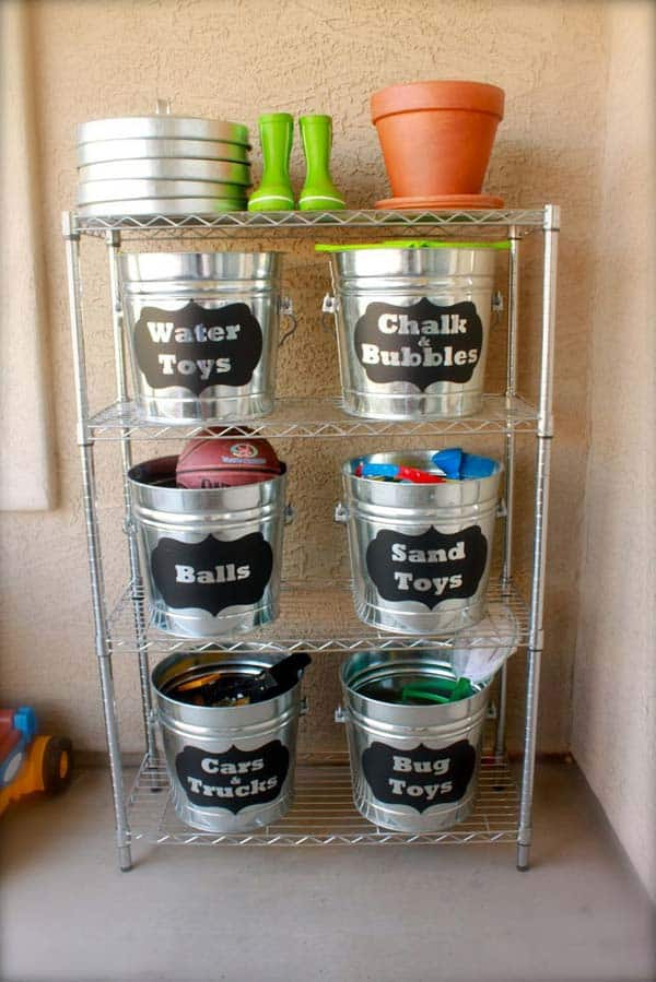 24 Genius Ways To Repurpose Galvanized Buckets and Tubs