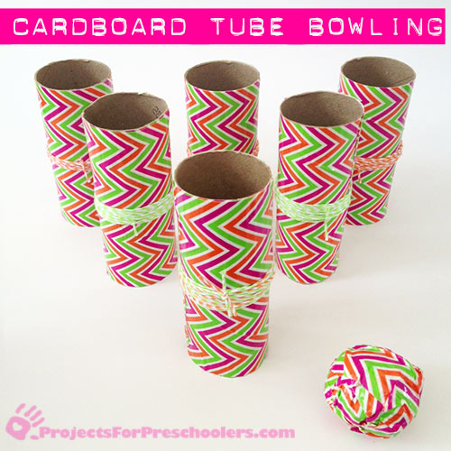 24 Make-a-Cardboard-Tube-Bowling-Game-with-Duck-Tape