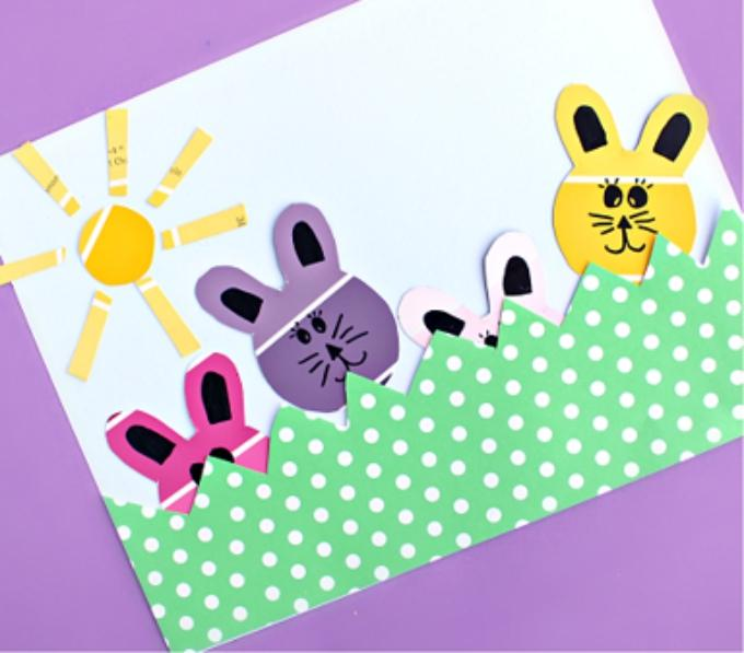 24 Super Cute Bunny Crafts for Kids to Make