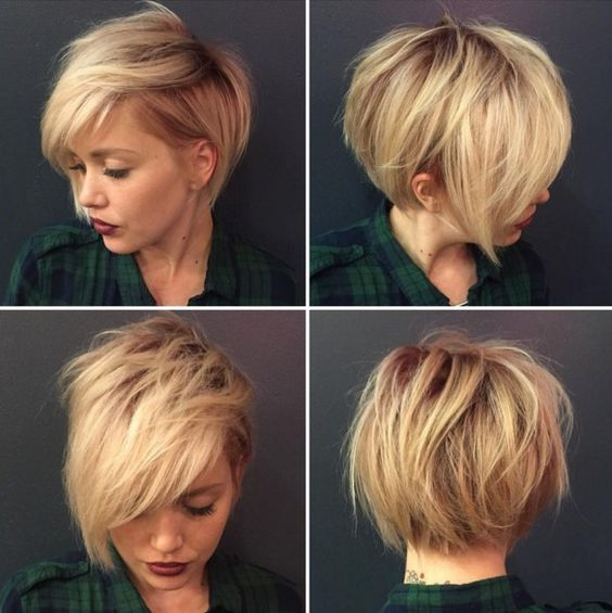 25 Easy and Trendy Short Hairstyles for Ladies