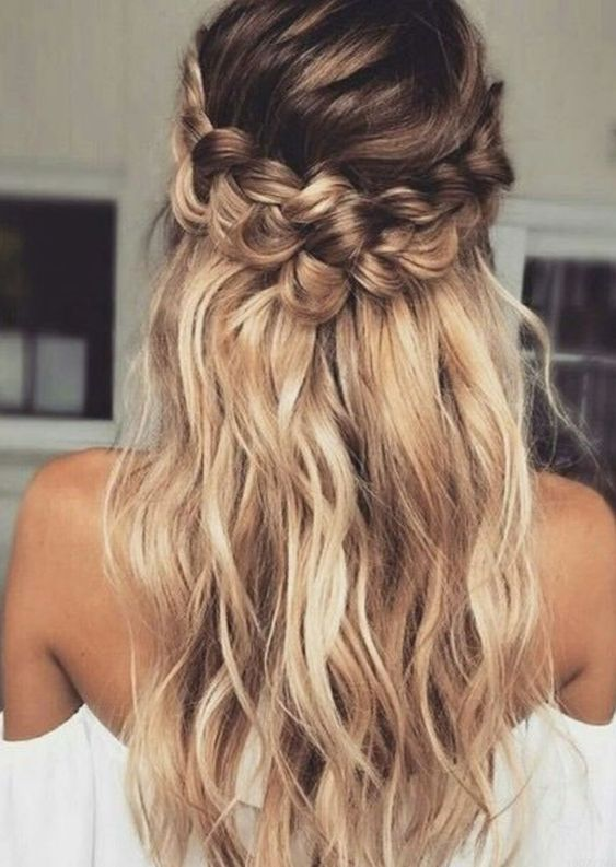25 Most Trendy Wedding Hairstyles Inspiration for Bride