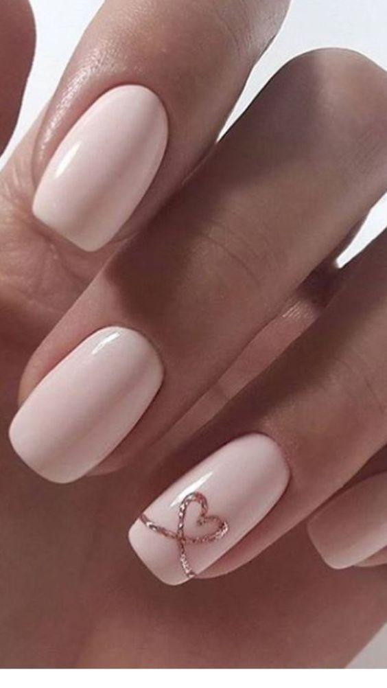 25 valentines nails