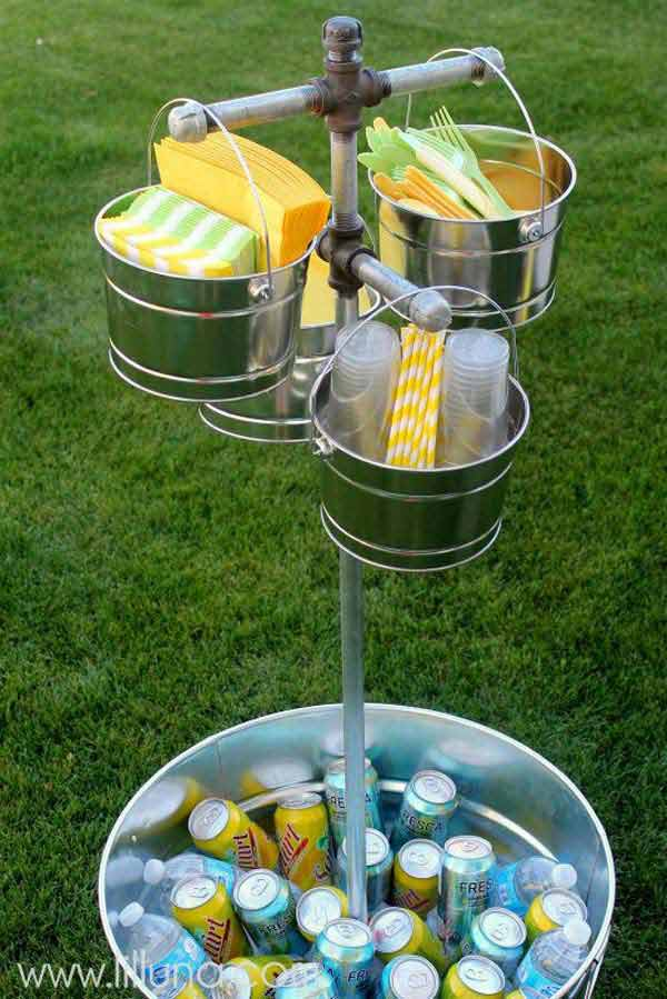 26 Genius Ways To Repurpose Galvanized Buckets and Tubs