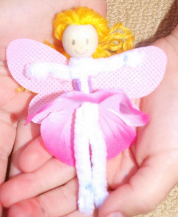 26 fairy-pip-cleaner-crafts