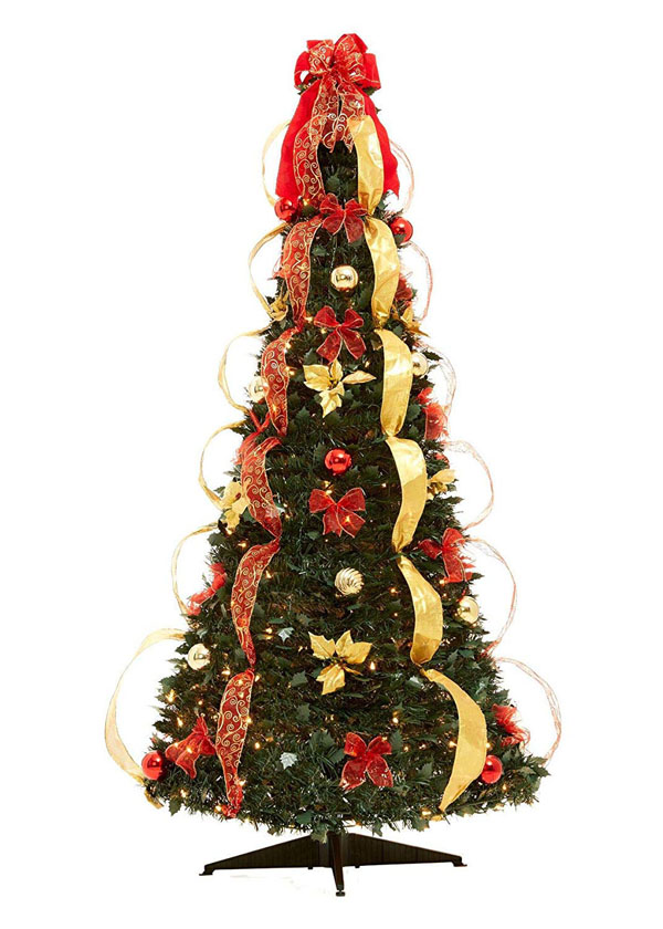 27 Fully Decorated Christmas Tree