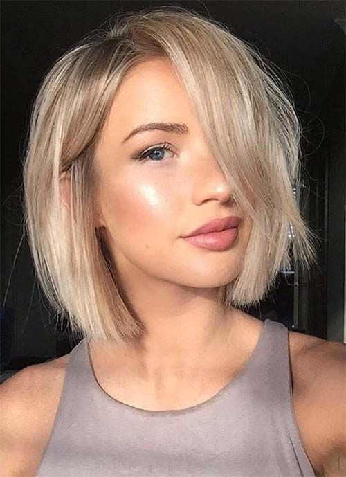 3 Easy and Cute Short Hairstyles For Round Face