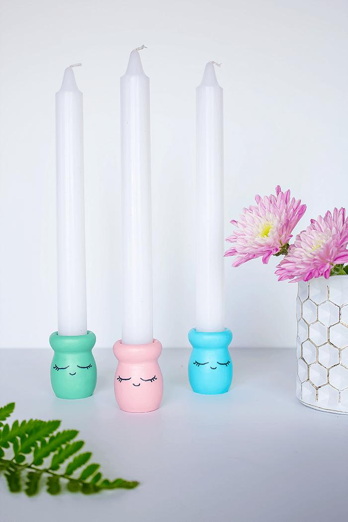 3 Fun and Easy DIY Candle Holder Projects
