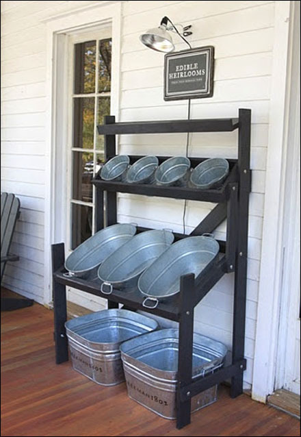 3 Genius Ways To Repurpose Galvanized Buckets and Tubs