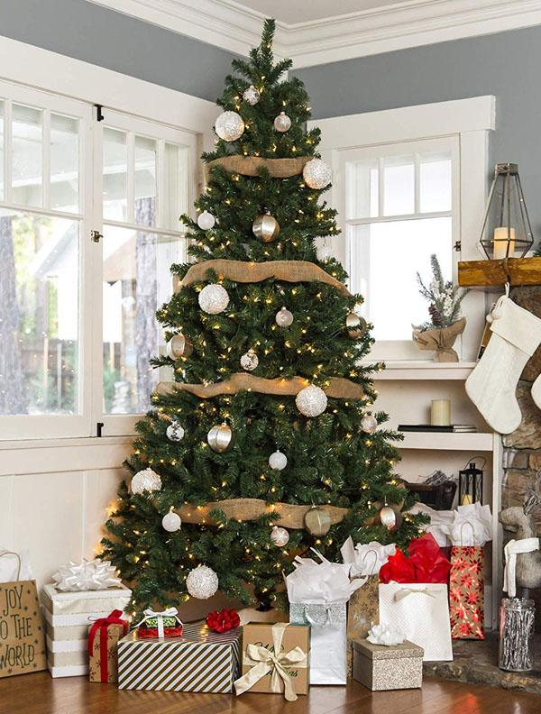 3 Spruce Hinged Artificial Christmas Tree