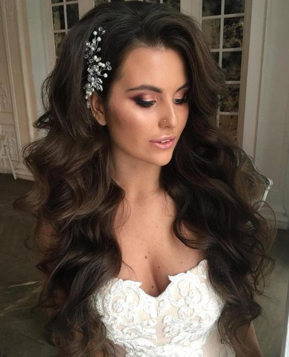 30 Most Trendy Wedding Hairstyles Inspiration for Bride