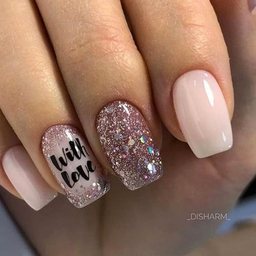 30 valentines nails