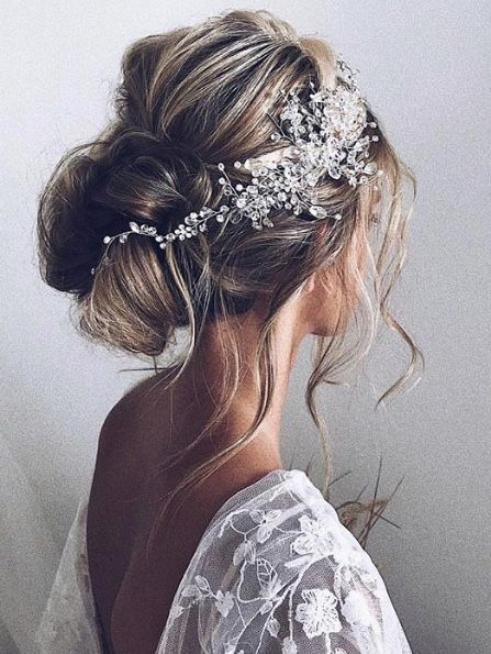 33 Most Trendy Wedding Hairstyles Inspiration for Bride