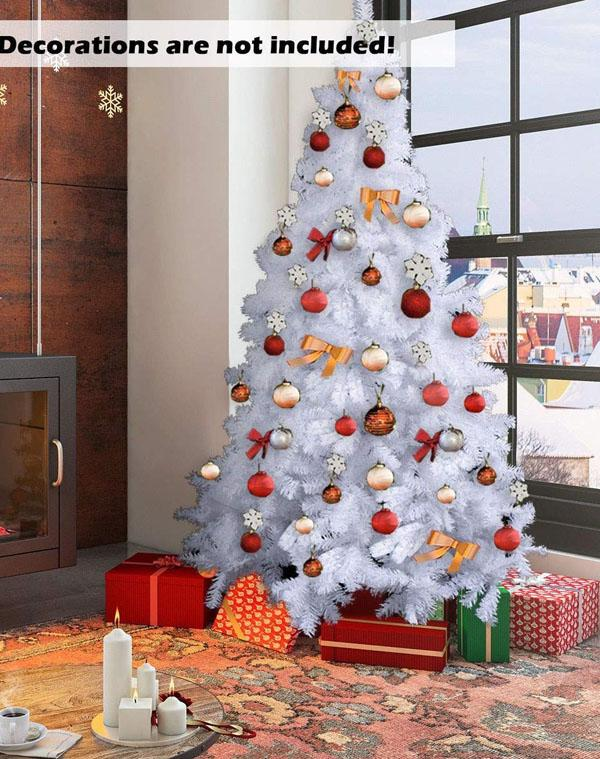 34 Artificial White Christmas Tree