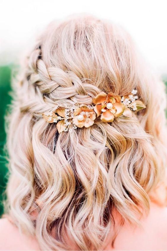 35 Most Trendy Wedding Hairstyles Inspiration for Bride
