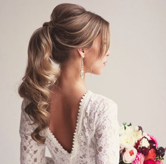 36 Most Trendy Wedding Hairstyles Inspiration for Bride