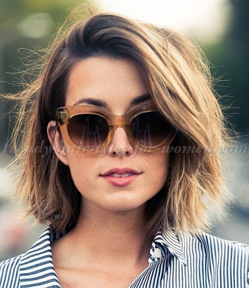 4 Easy and Cute Short Hairstyles For Round Face