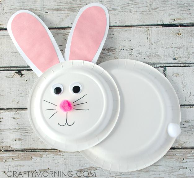 4 Super Cute Bunny Crafts for Kids to Make