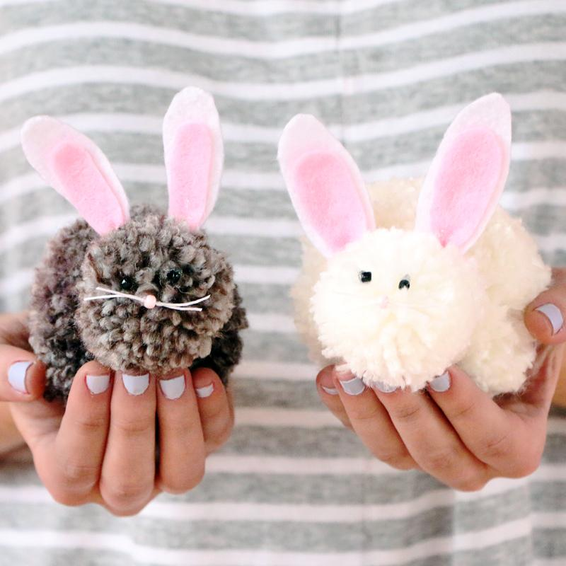 6 Super Cute Bunny Crafts for Kids to Make