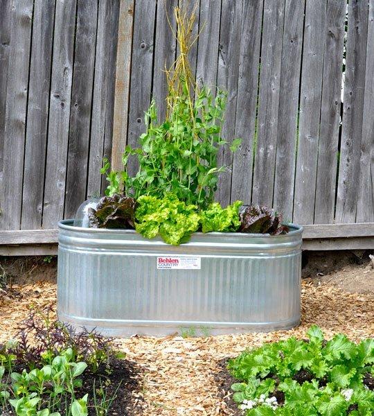 8 Genius Ways To Repurpose Galvanized Buckets and Tubs