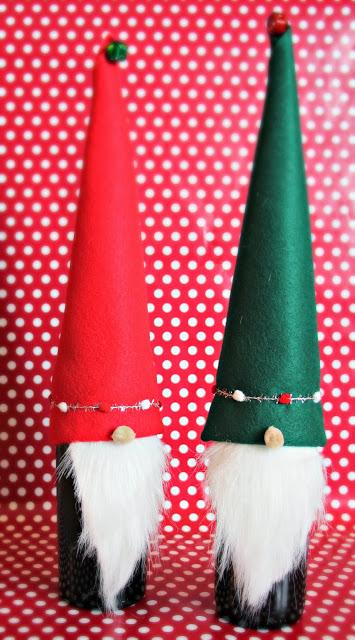 9 Wine Bottle Christmas Craft Ideas