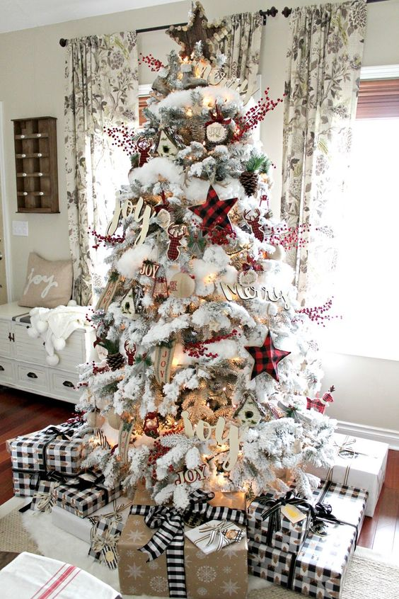Amazing Christmas Tree Decoration Ideas 19