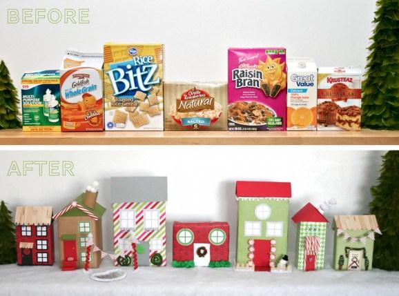 Festive Trash-To-Treasure Christmas Crafts 09