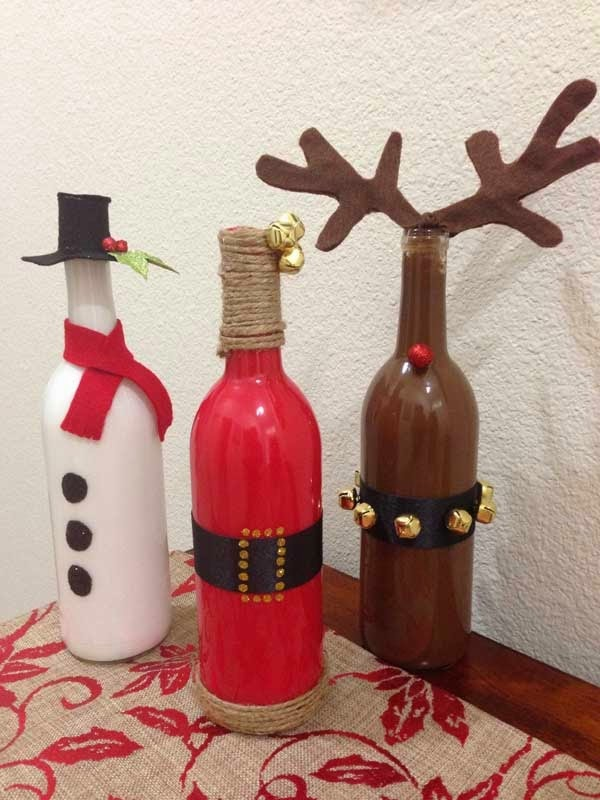 Festive Trash-To-Treasure Christmas Crafts 21