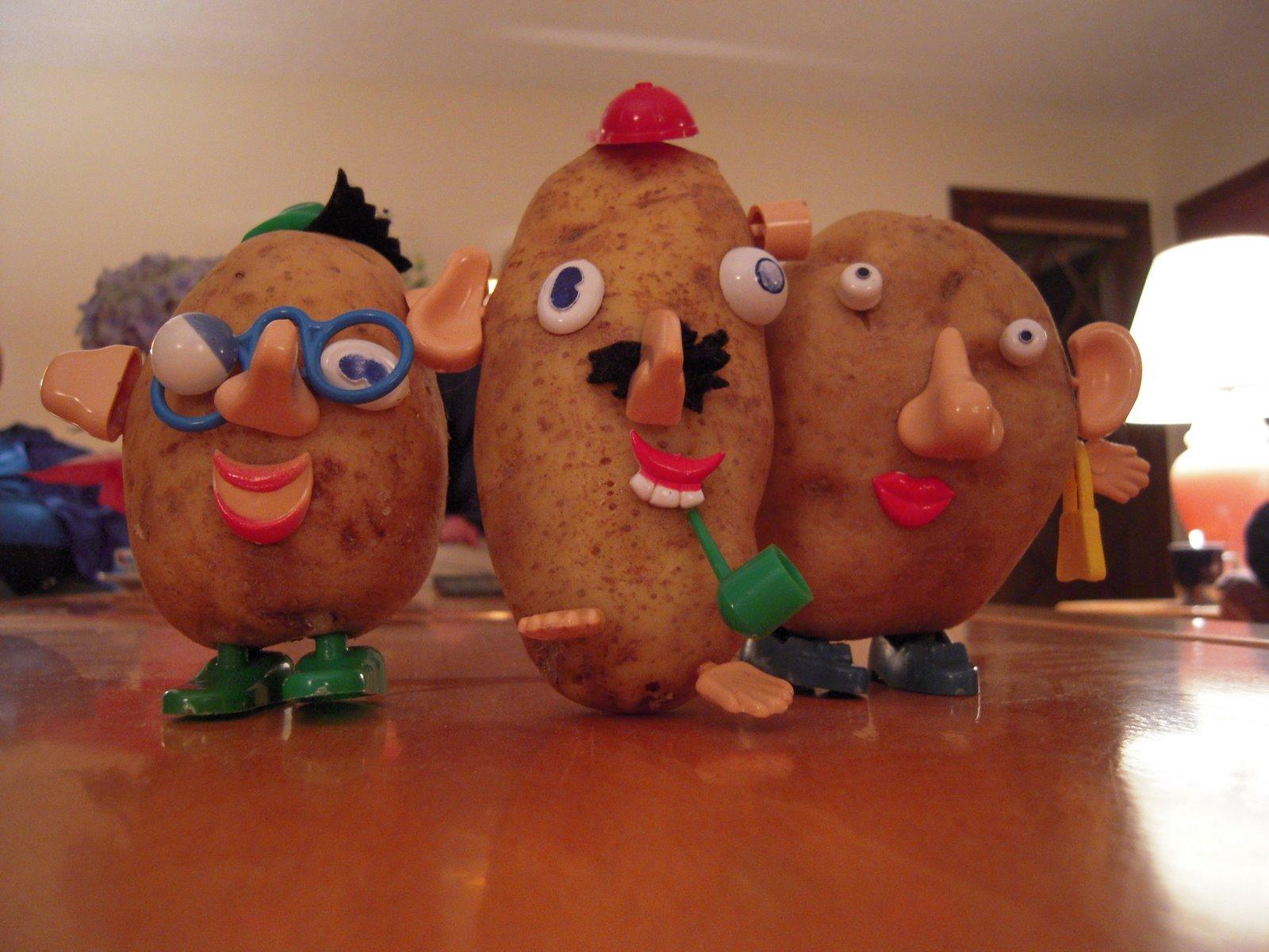 funny potato head pic