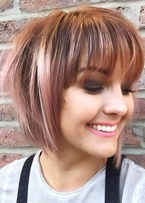 1 Super Short Haircuts with Bangs