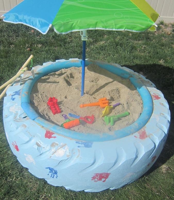 11 Cheap and Easy DIY Sandbox Ideas with Tutorials