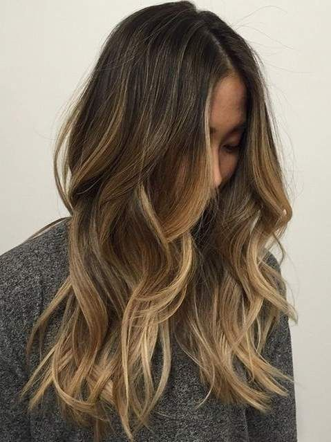 12 Fashionable Balayage Hair Color Ideas For Brunettes