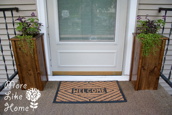 12 Unique  DIY Planter Ideas For Your Front Porch