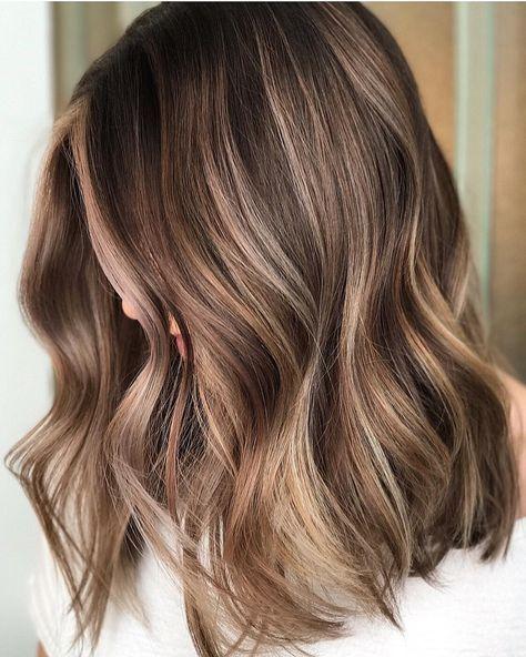 13 Brunette Balayage Hair Color Ideas