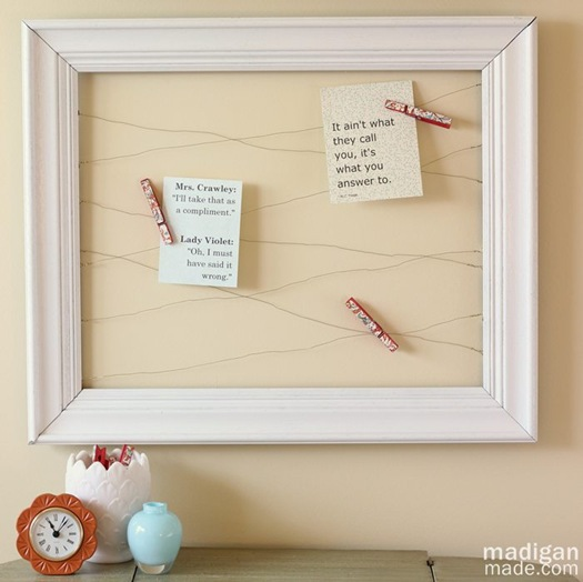 14 Awesome Things You Can Make With Dollar Store Picture Frames