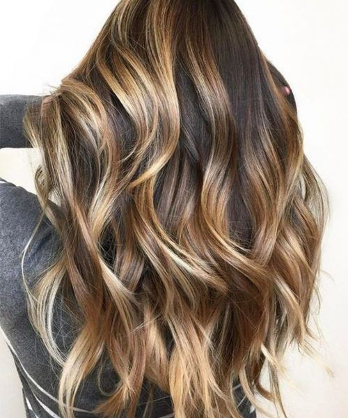 14 Fashionable Balayage Hair Color Ideas For Brunettes