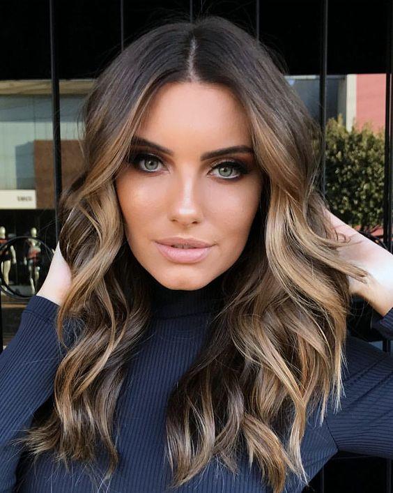 15 Brunette Balayage Hair Color Ideas