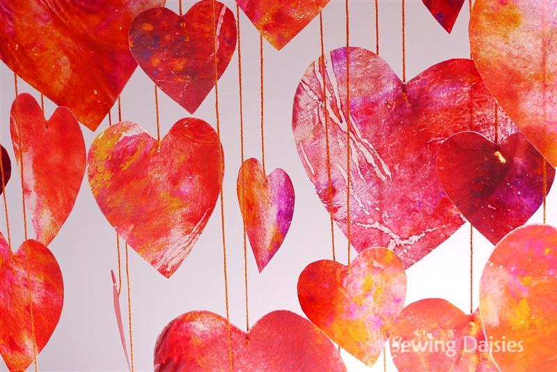 15 Crayon Hearts