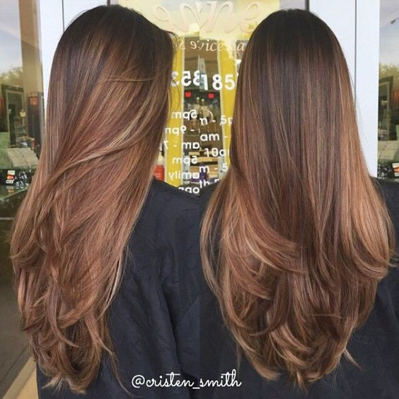 15 Fashionable Balayage Hair Color Ideas For Brunettes