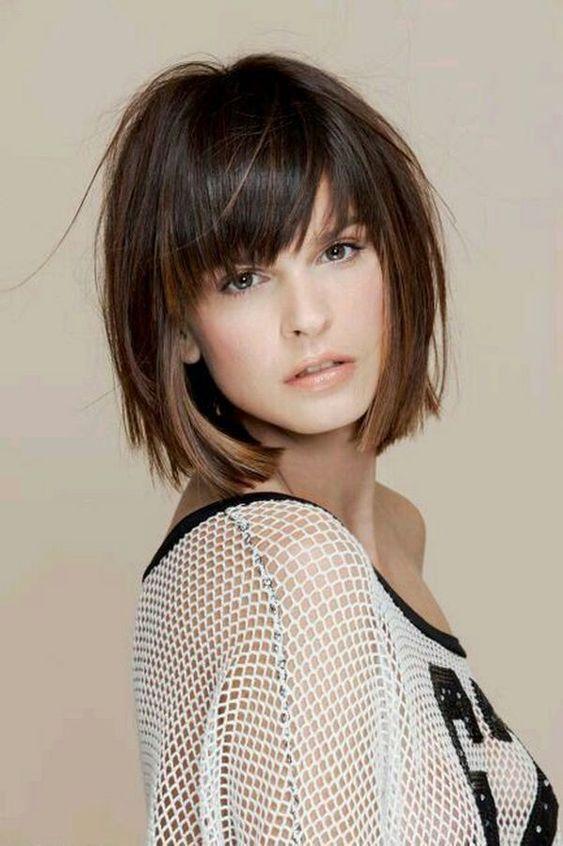 15 Super Short Haircuts with Bangs