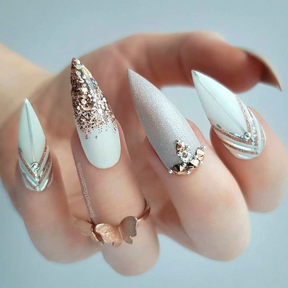 15 romantic nail designs ideas